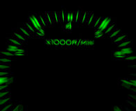 Car  tachometer Royalty Free Stock Images