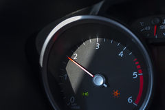 Car tachometer. Royalty Free Stock Photos