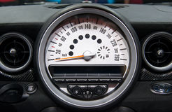 Car Tachometer Stock Photo