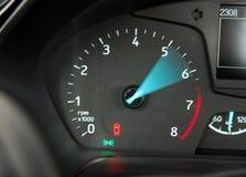 Car Tachometer stock photography