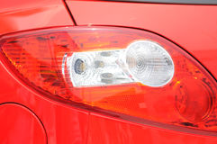 Car tail light Royalty Free Stock Photo