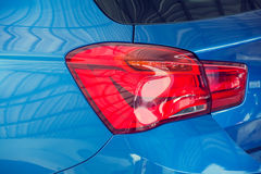 Car tail light brake beutiful new design.  Royalty Free Stock Photos