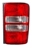 Car tail light Stock Image