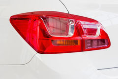 Car tail light on a sedan Stock Images