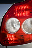 Car tail lights Stock Photo