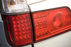 Car tail lights Royalty Free Stock Photo