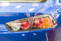 Car Taillight Closeup Royalty Free Stock Images