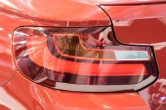 Car Taillight Closeup. Car Taillight Close Up View Royalty Free Stock Image