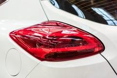 Car Taillight Closeup. Car Taillight Close Up View Stock Photo
