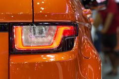 Car taillight or taillamp Royalty Free Stock Images