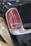 Car taillights Royalty Free Stock Images