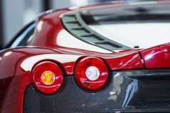 Car taillights Stock Images