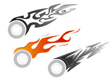 Car tattoo Stock Image