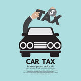 Car Tax Concept Royalty Free Stock Photography