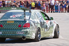 Car team Round-X stylized military subjects Stock Photography