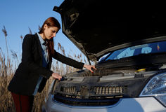Car technical problems Stock Photo
