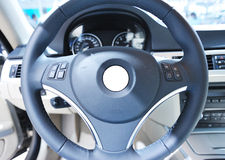 Car teering wheel Royalty Free Stock Photography