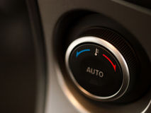 Car temperature knob Royalty Free Stock Photos