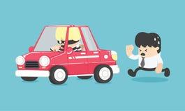 Car theft illustration Stock Photography