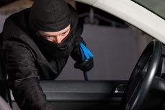 Car theft Stock Photography
