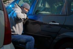 Car theft Stock Photo