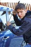 Car thief Stock Photography