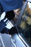 Car thief Stock Image