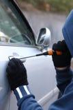 Car thief Royalty Free Stock Photos