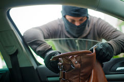 Car thief Royalty Free Stock Photography