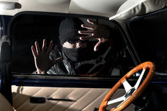 Car thief Royalty Free Stock Photos