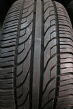 Car Tire. A close-up of a car tire pattern Royalty Free Stock Photos