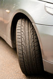 Car and tire Stock Photo