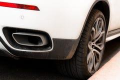 Car and tire Stock Photos