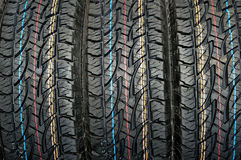 Car tire. New car tire for winter Stock Photo