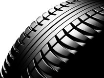 Car tire. On a white background Stock Photography