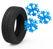 The car tire Royalty Free Stock Photography