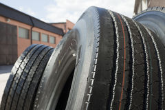 Car tire. Background close up Stock Photography