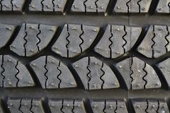 Car tire background Royalty Free Stock Photo