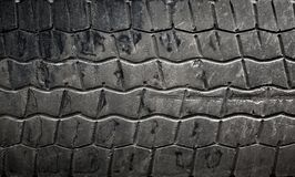 Car tire background texture Royalty Free Stock Photography