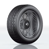 Car tire black Stock Photo