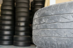 Car tire change Tires Royalty Free Stock Photo