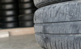 Car tire change Tires Royalty Free Stock Images