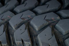 Car tire. Close up of a car tire Stock Images