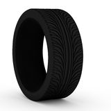 Car tire. Royalty Free Stock Photography