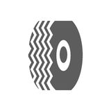 Car tire icon Stock Photos