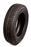 Car tire isolated Royalty Free Stock Image