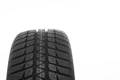 Car tire isolated on white background Stock Photo