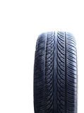 Car tire isolated on white background Royalty Free Stock Photo