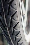 Car tire, macro shot. Stock Image