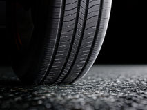 Car tire protector close-up 3d illustration Stock Images